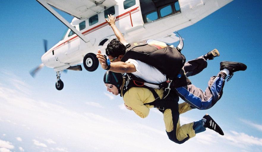 tandem skydive gran canaria