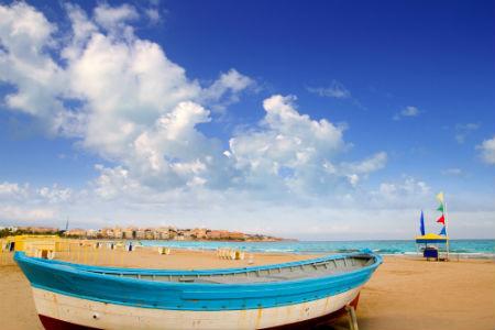 Playas en Costa Dorada