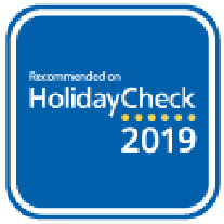 HOLIDAYCHECK RECOMMENDED 2019