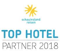 TOP HOTEL PARTNER 2018