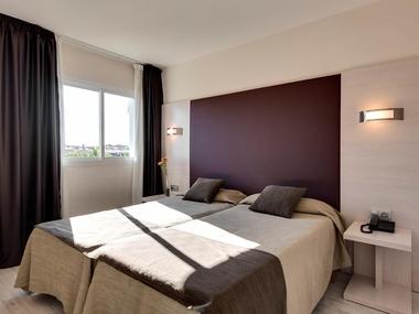 Zimmer Apartments Palm Garden Zimmer Hotel Strand Von Alcúdia - Mallorca urlaub appartement 2 schlafzimmer