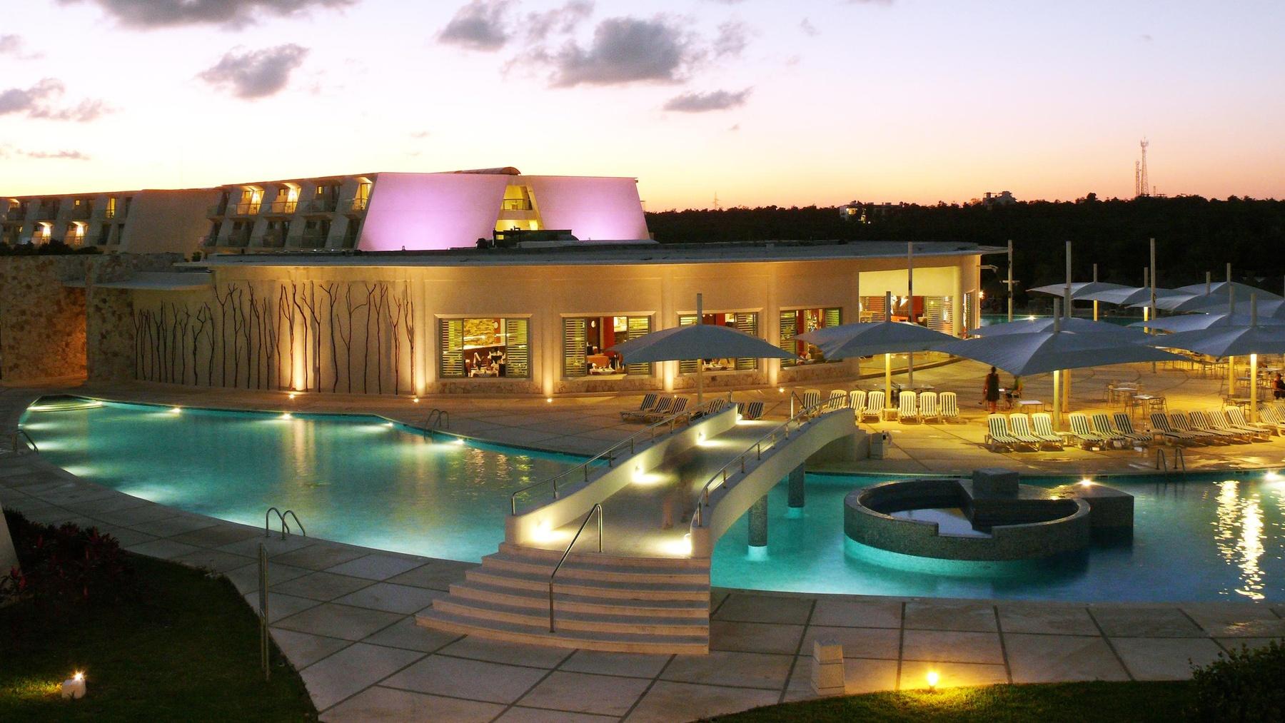 The large resort