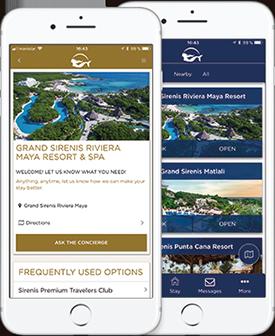 Sirenis Hotels app