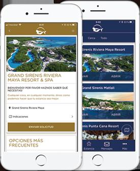 app Sirenis Hotels