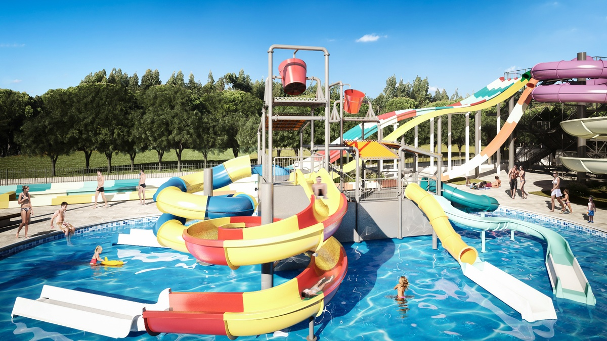 Hotel With Water Park In Barcelona Water Park For Children