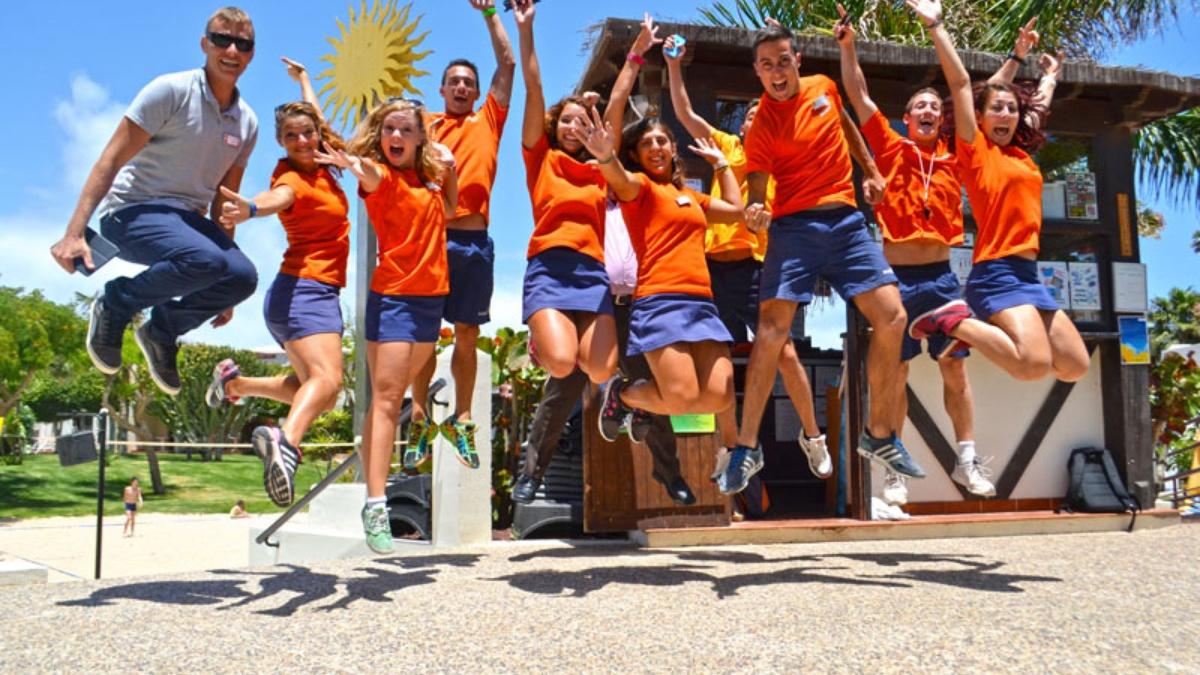 Animación Team Hotel Carralejo Fuerteventu