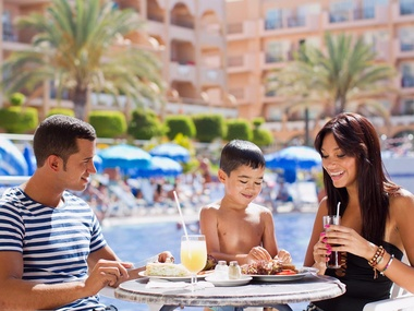 Hotel Dunas Mirador Pareja Bar Piscina