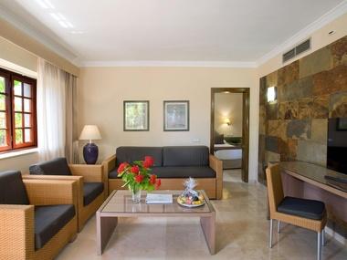 Salón Habitación Suite Senior Hotel Dunas Suites & Villas
