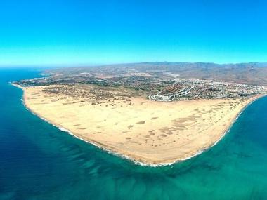Vista Maspalomas y Playa del inglés