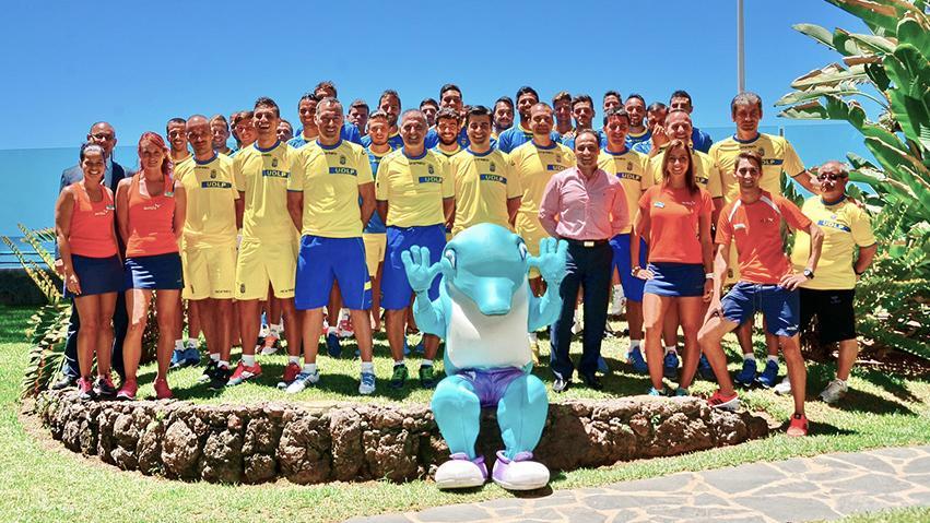 5. Vorsaison des Fussballvereins von Las Palmas im Dunas Don Gregory