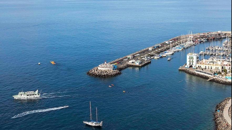 Nautical activities in Gran Canaria