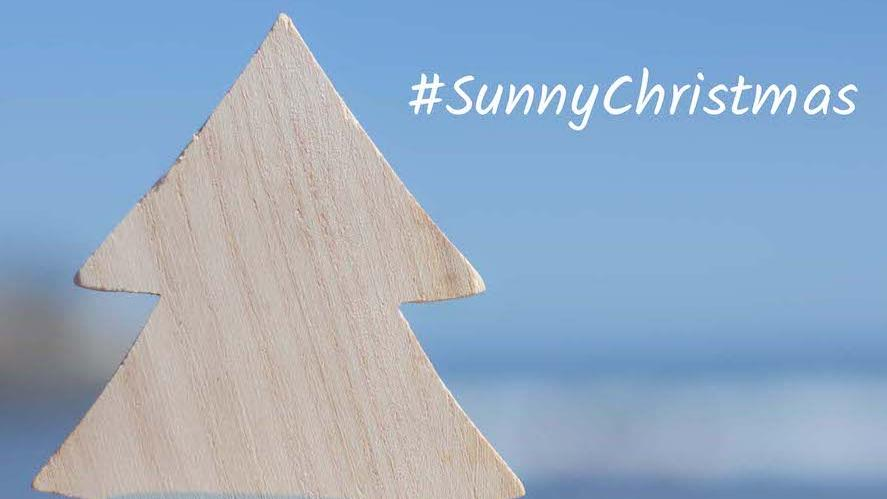 Christmas in the sun: #SunnyChristmas