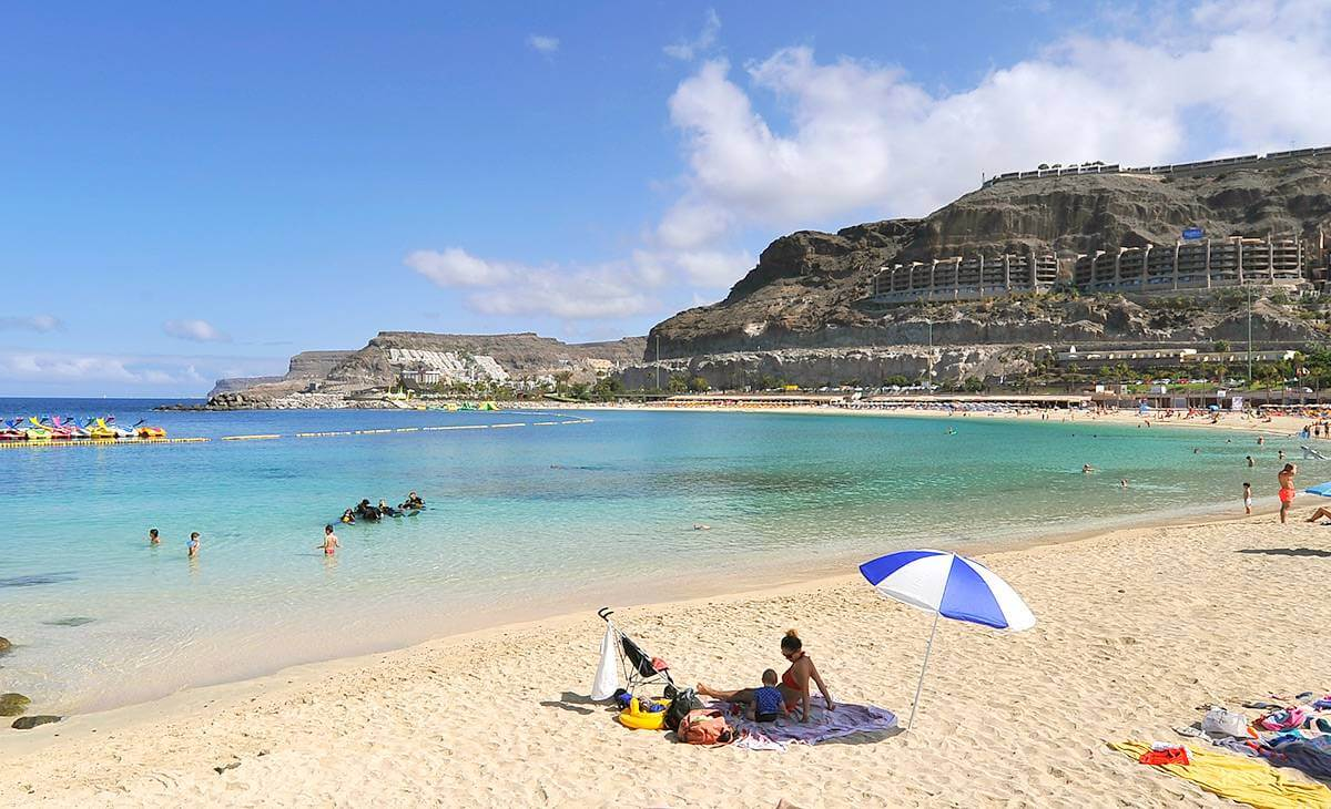 canary islands sandy beaches