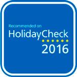 Holiday Check Recomended 2016