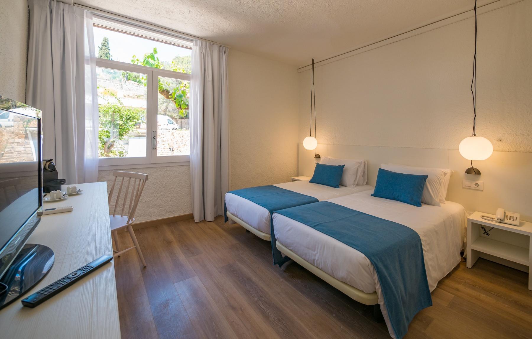chambres chambres vue sur la mer Costa Brava Tossa
