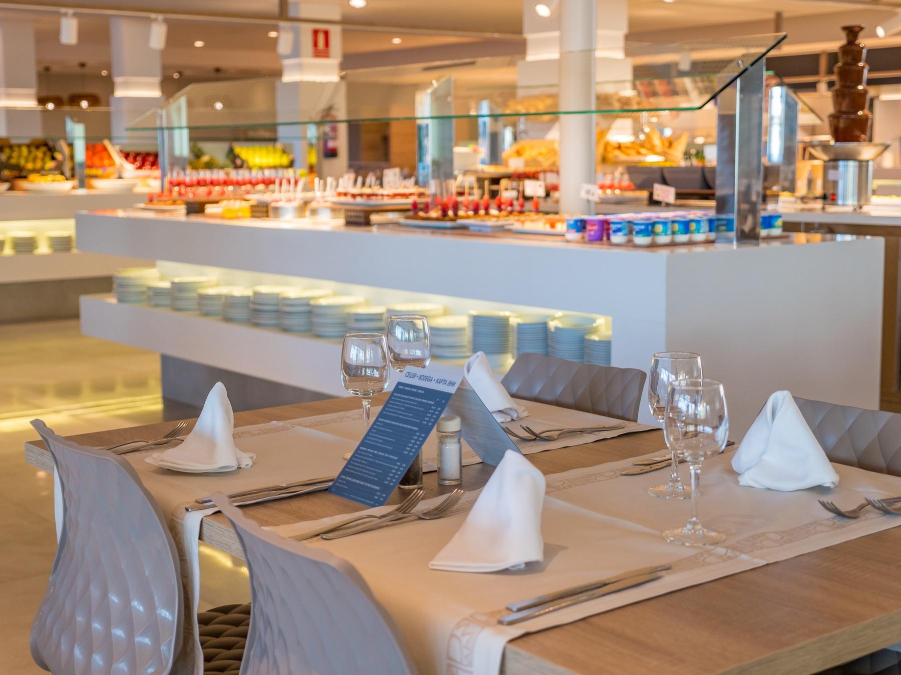 hoteles restaurante pensión completa costa Barcelona