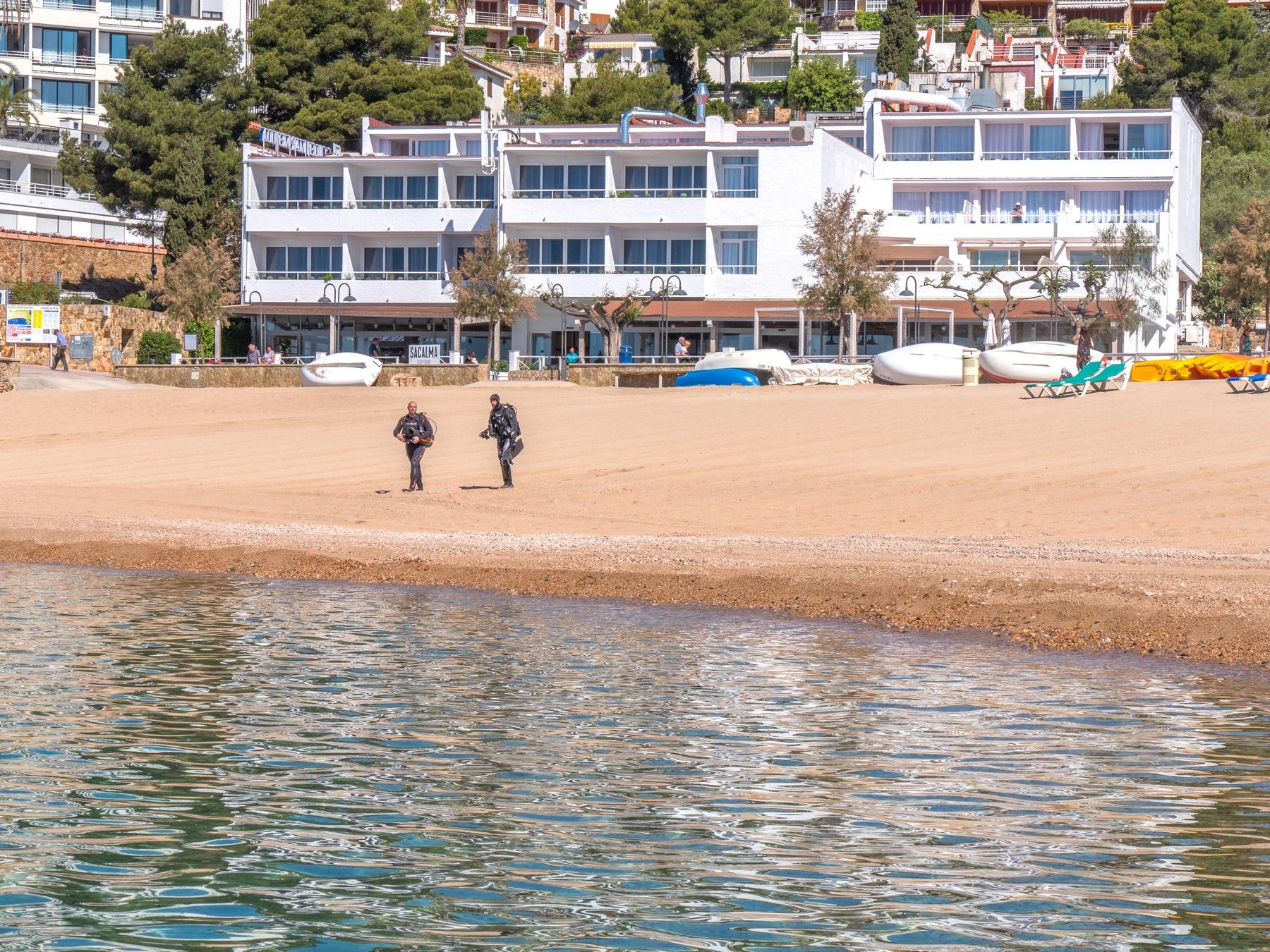 hotel buceo Costa Brava hoteles submarinismo Costa Brava