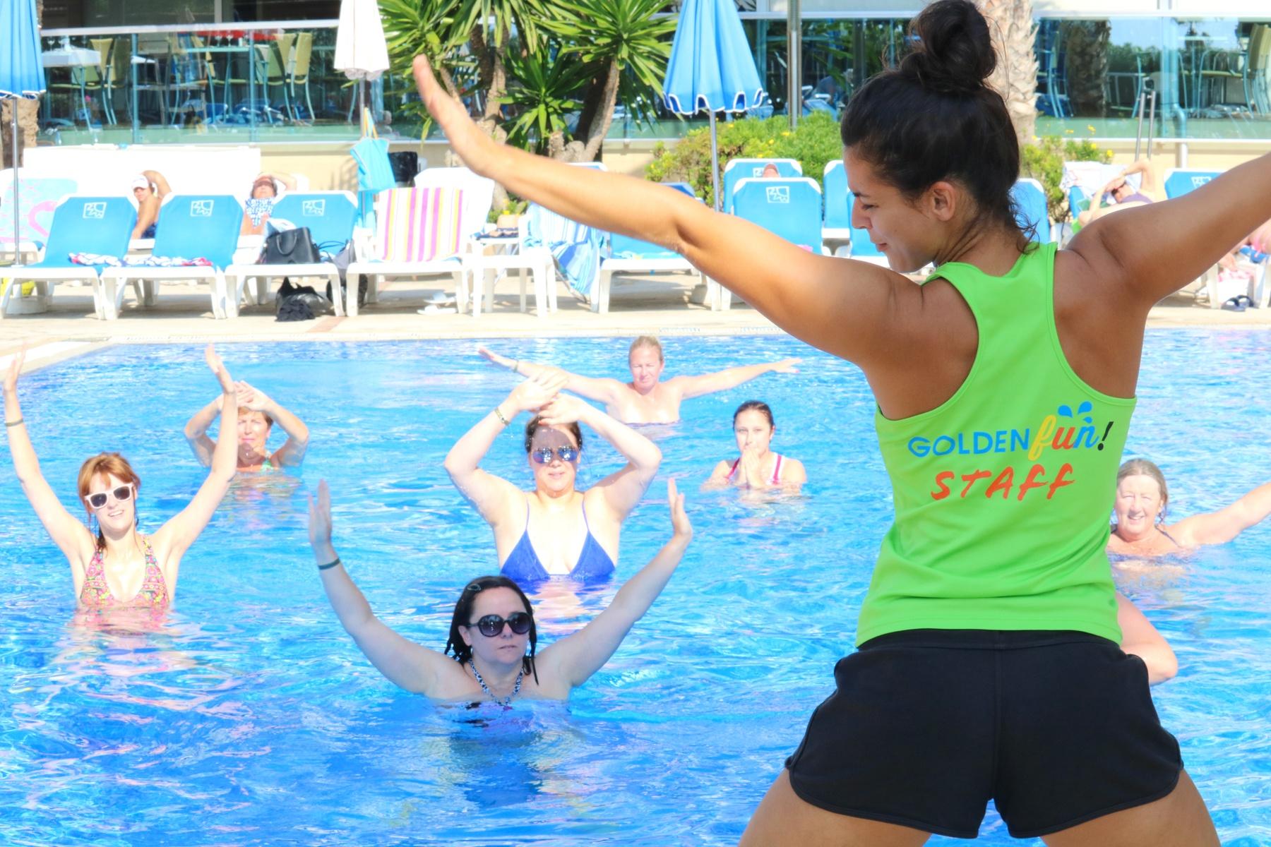 piscine d'exercice