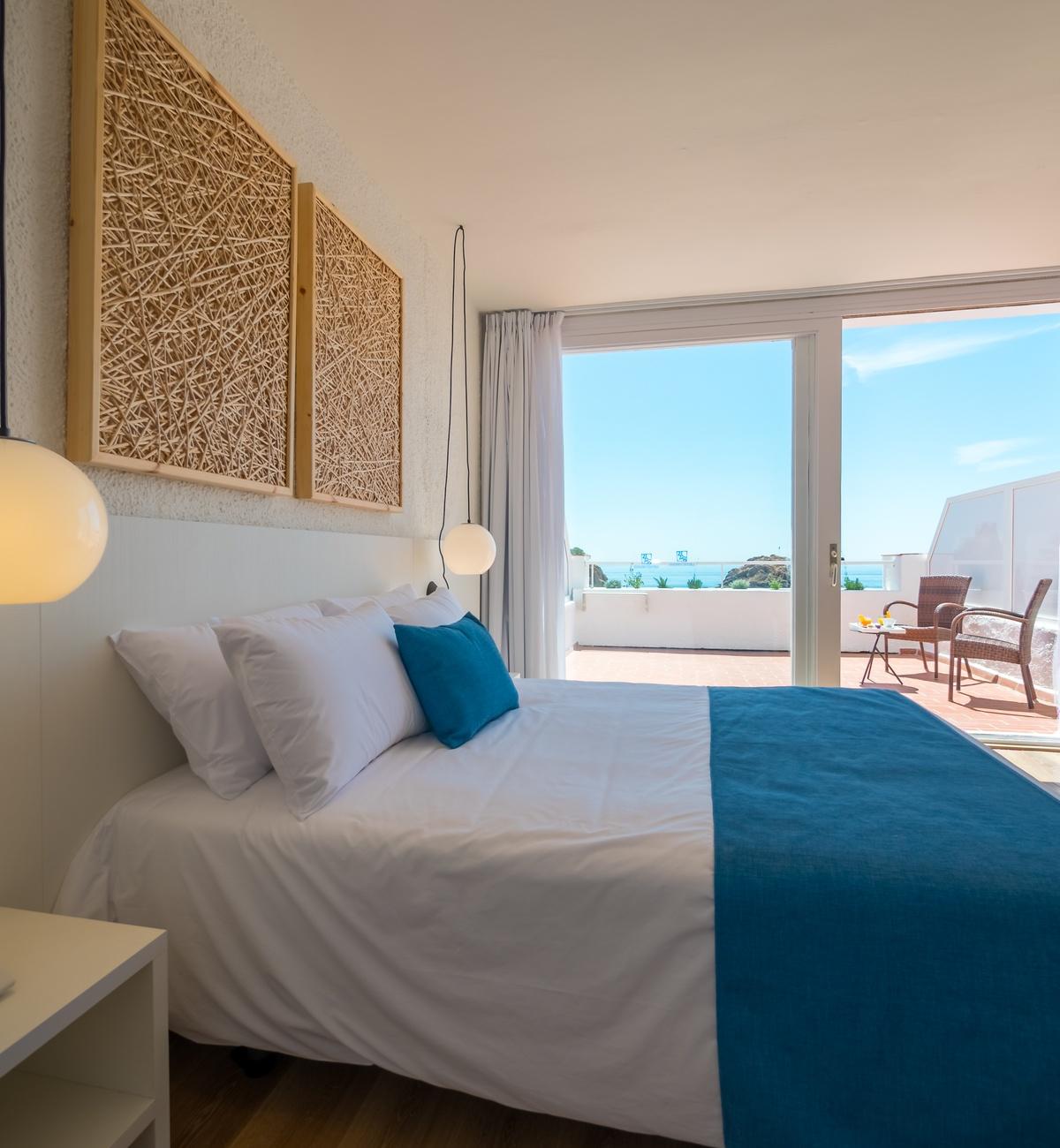 Habitación premium vista mar superior terraza