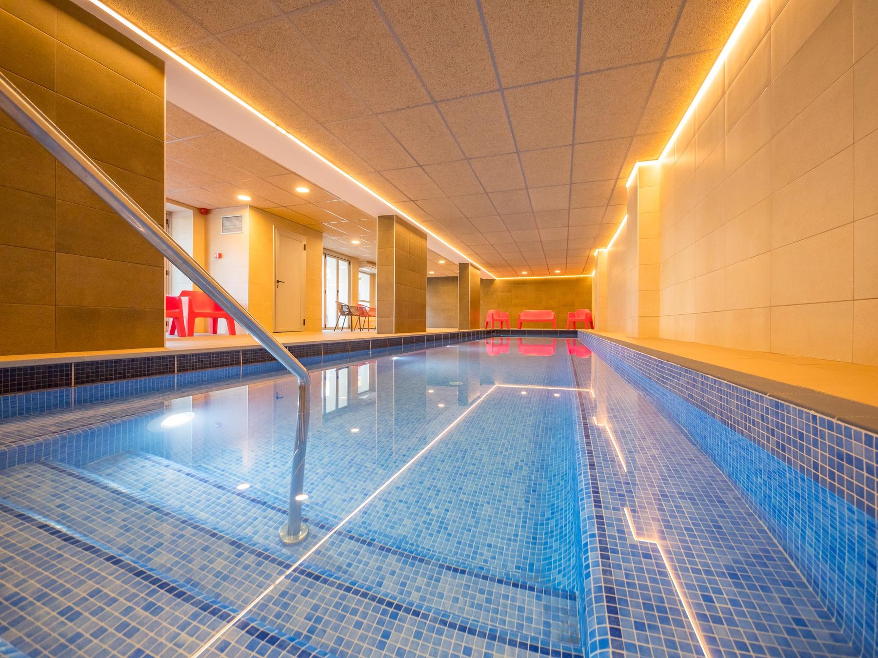 hotel habitaciones familiares playa Salou Costa Dorada piscina climatizada