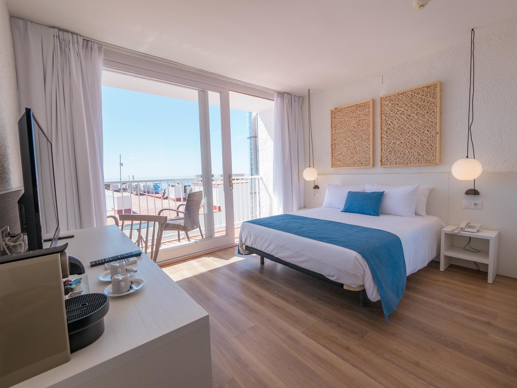 hoteles habitaciones vista mar Costa Brava Tossa