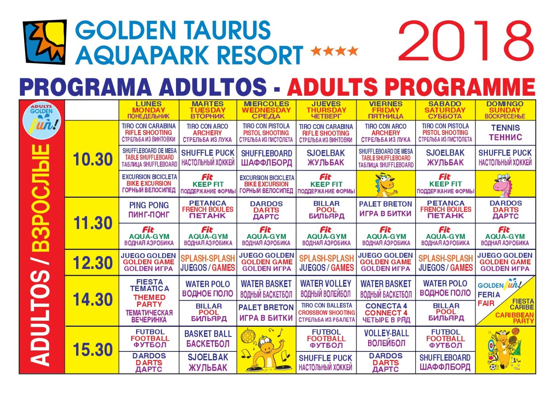 entertainment programme costa Barcelona
