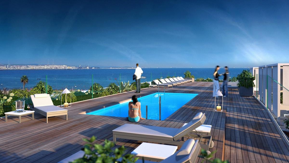Vista general del hotel Golden Costa Salou