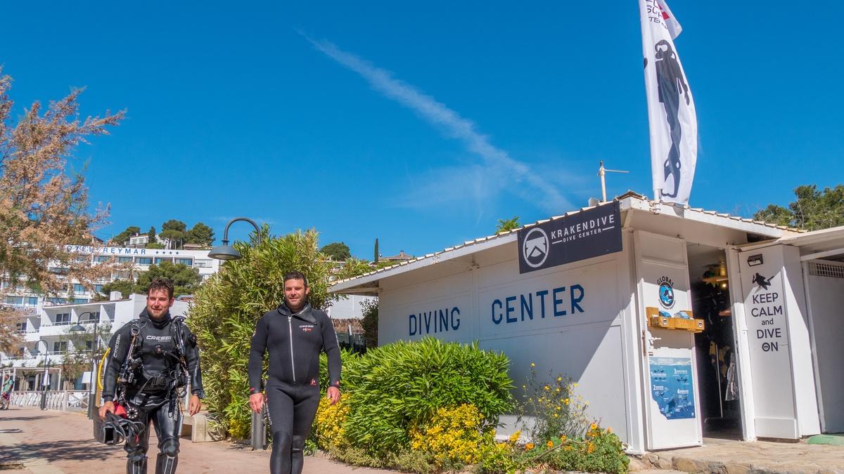 Diving activities costa brava