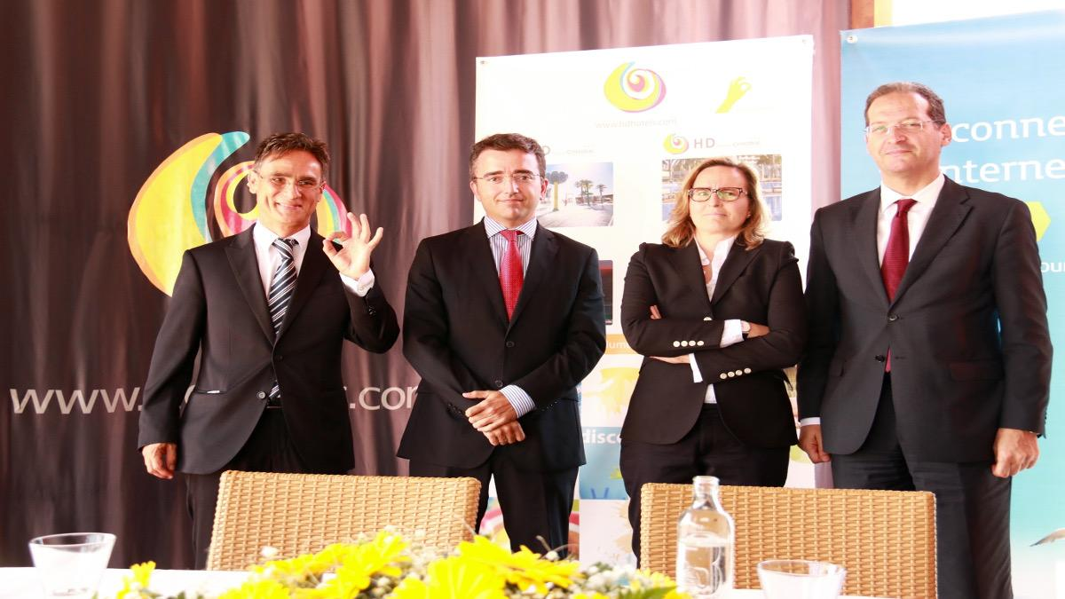 """Telefónica presenta en HD Parque Cristóbal Gran Canaria el servicio """"Movistar Wifi Go"""""""