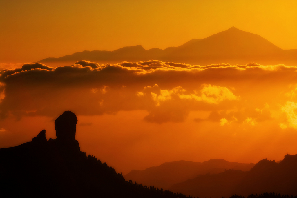 La mejor puesta de sol en Gran Canaria
