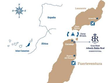 mapa fuerteventura