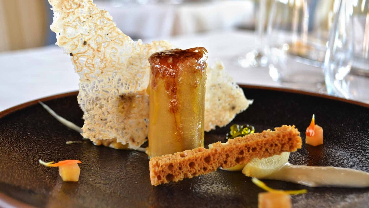 Restaurante La Cúpula - Terrina de Foie