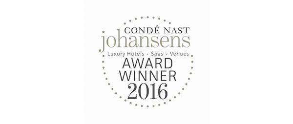 Conde Nast Award Winner 2016