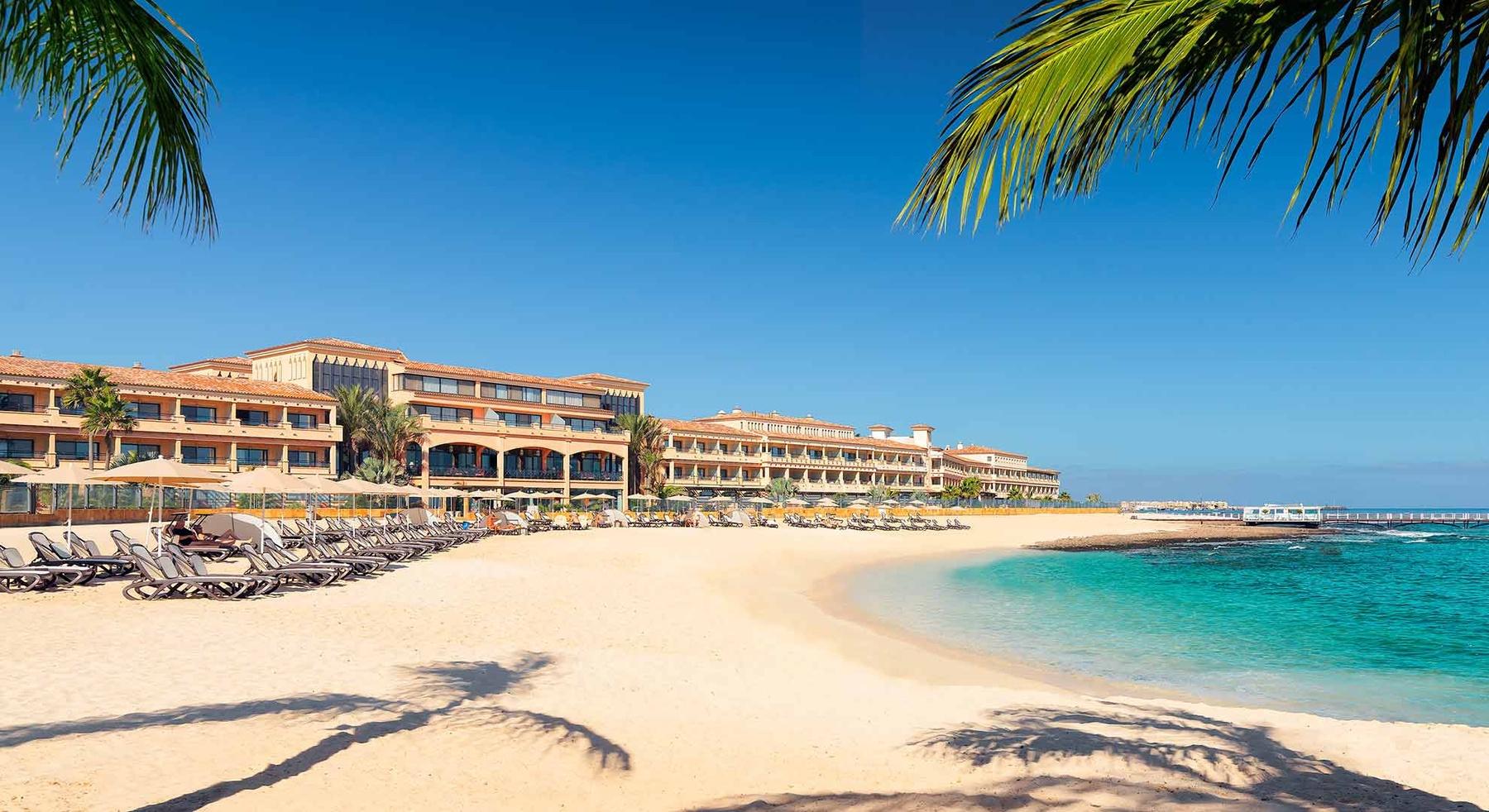 Hotel desde la playa | Gran Hotel Atlantis Bahía Real