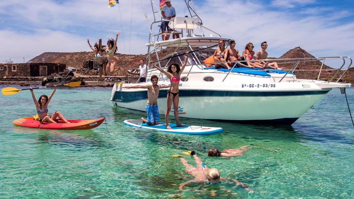 Actividades acuáticas Islas Canarias