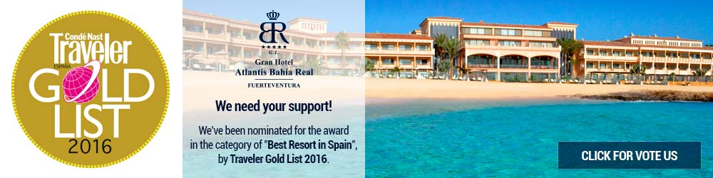 Vote Us - Conde Nast - Traveler Gold List 2016