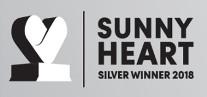premio SILVER WINNER 2018 SUNNY HEART