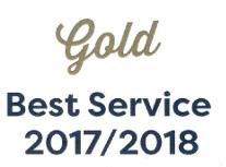 Gold Best Service Award