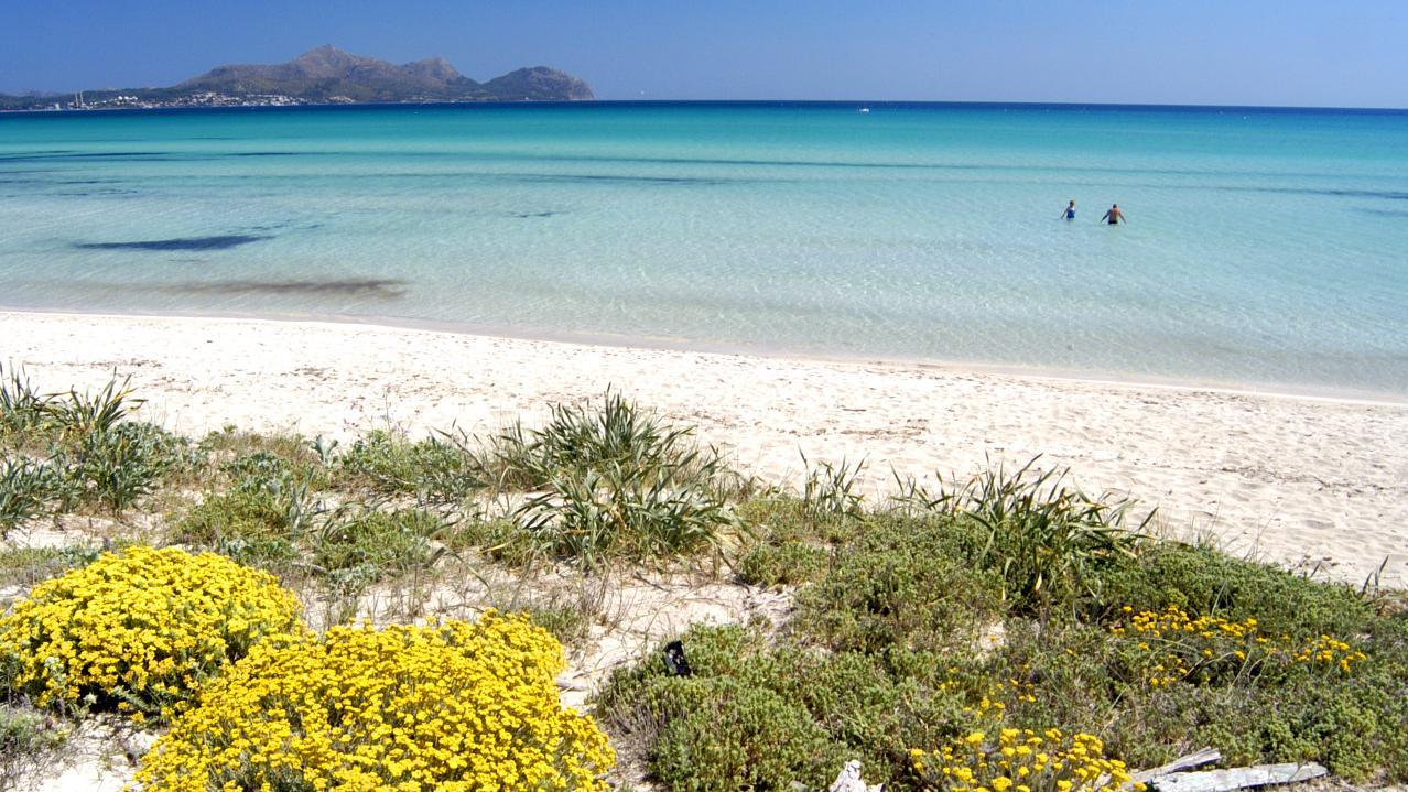Playa de Muro, segundo mejor destino de playa