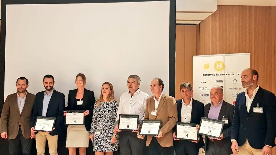 Garden Hotels premiada por su sostenibilidad hotelera en los premios Re-Think
