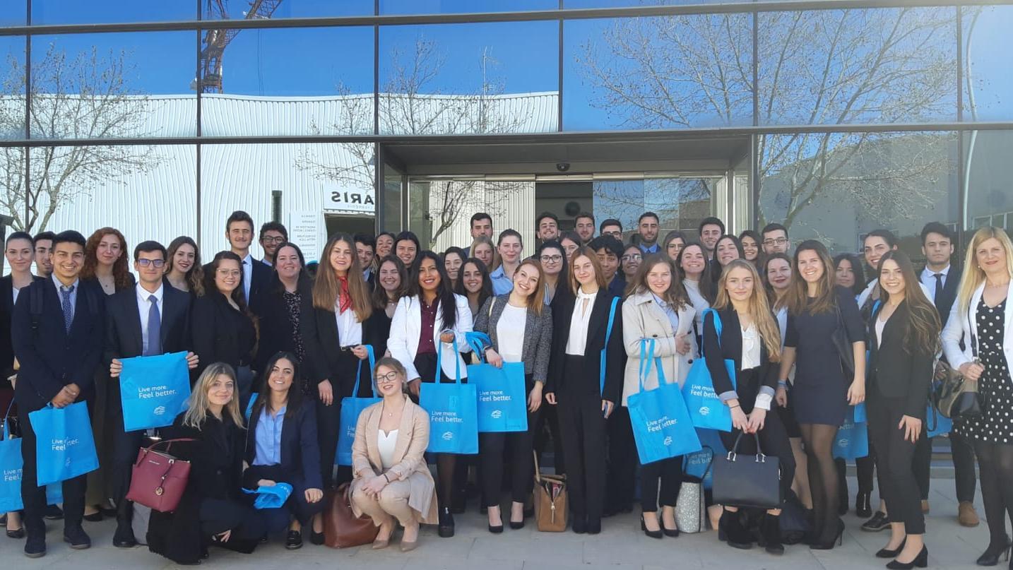 Garden Hotels recibe la visita de los alumnos del Aula de Formación