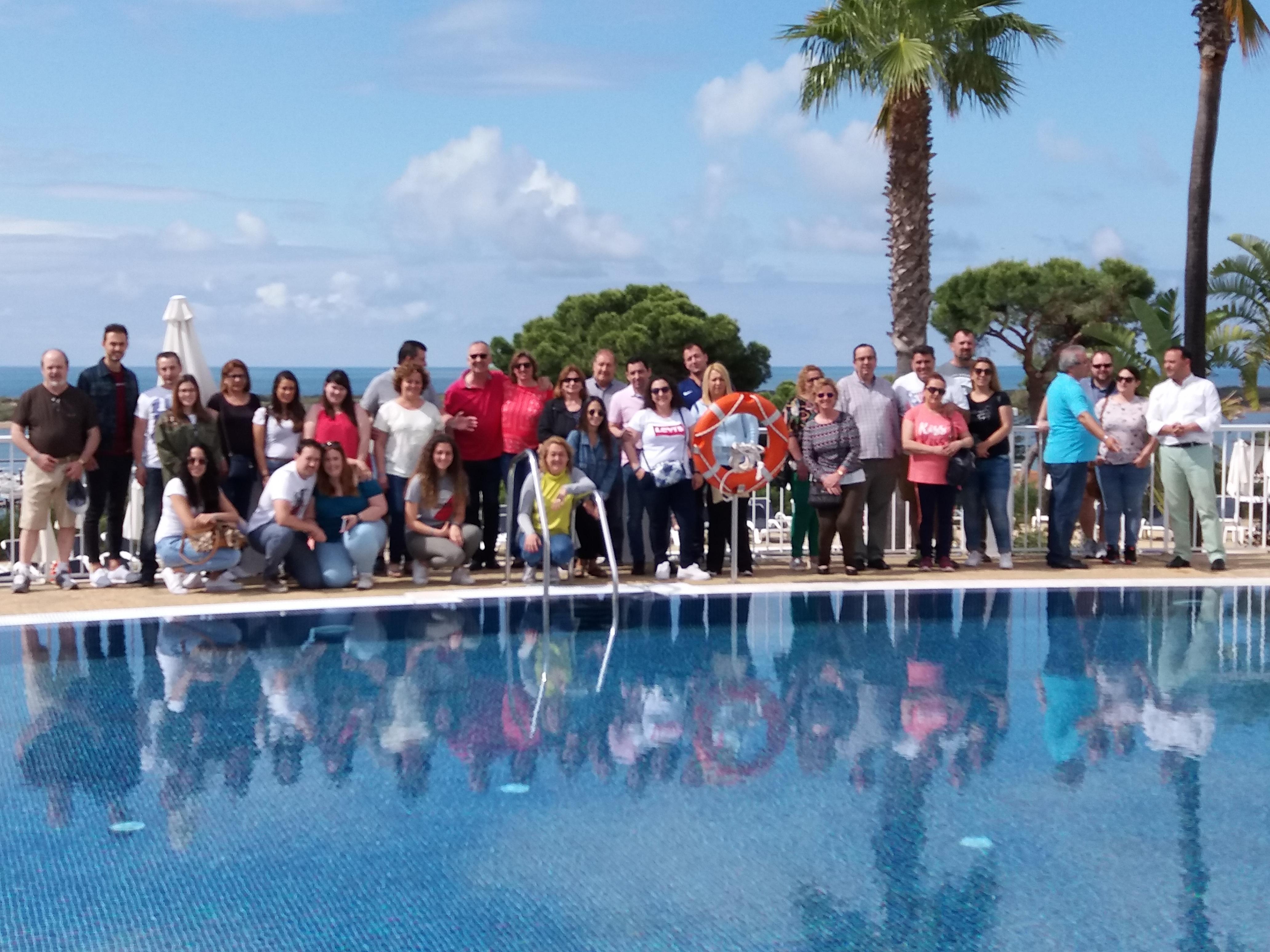 Garden Hotels presenta sus novedades en Badajoz y celebra un FAM TRIP en el Garden Playanatural Hotel & Spa