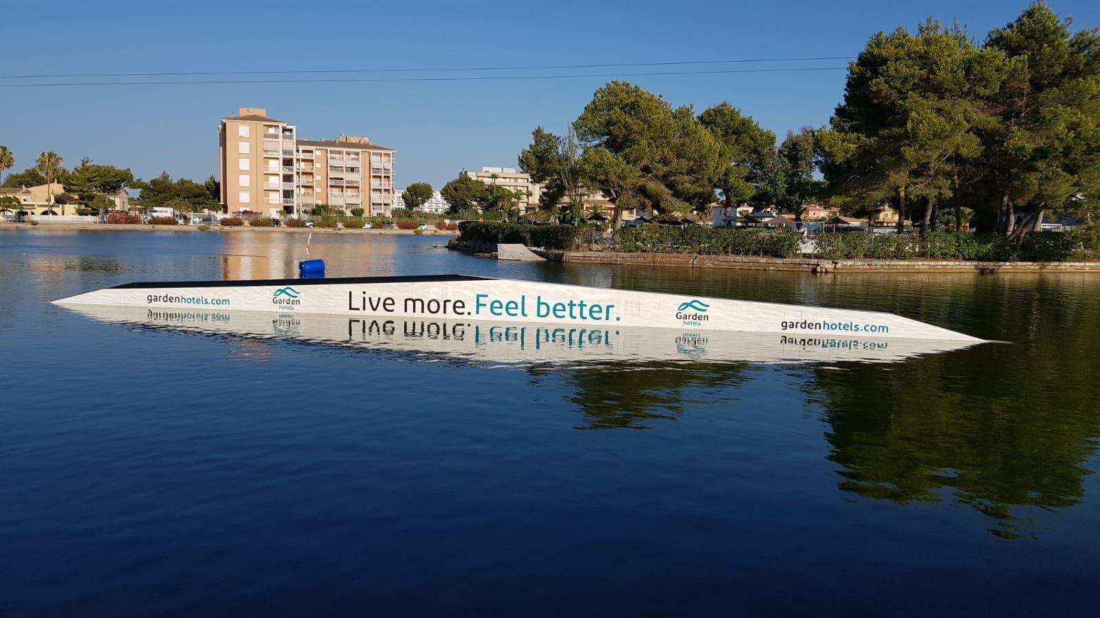 Garden Hotels colabora con el único wakeboard park en Mallorca, Mallorca Wakepark