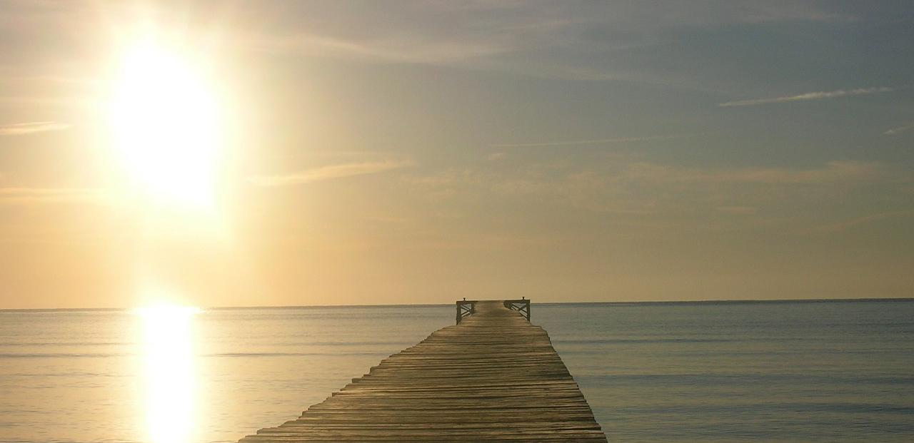 Estrena febrero en la playa de Alcudia