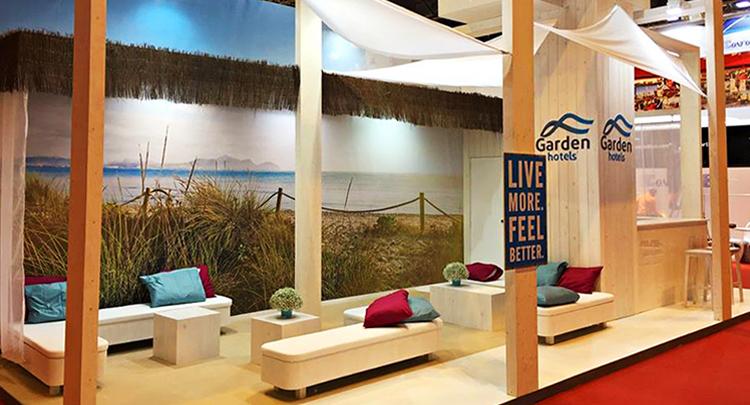 Garden Hotels consolidates in FITUR