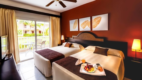 Sirenis Punta Cana Resort República Dominicana Junior Suite Superior la cama