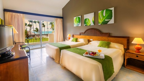 Sirenis Punta Cana Resort Dominican Republic the bed