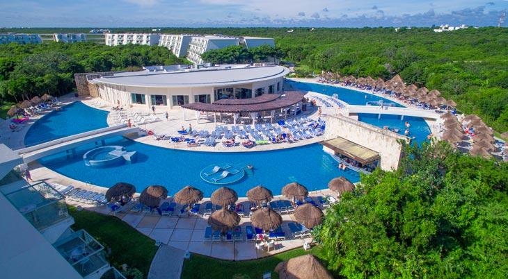 Viajando con amigos a la Riviera Maya