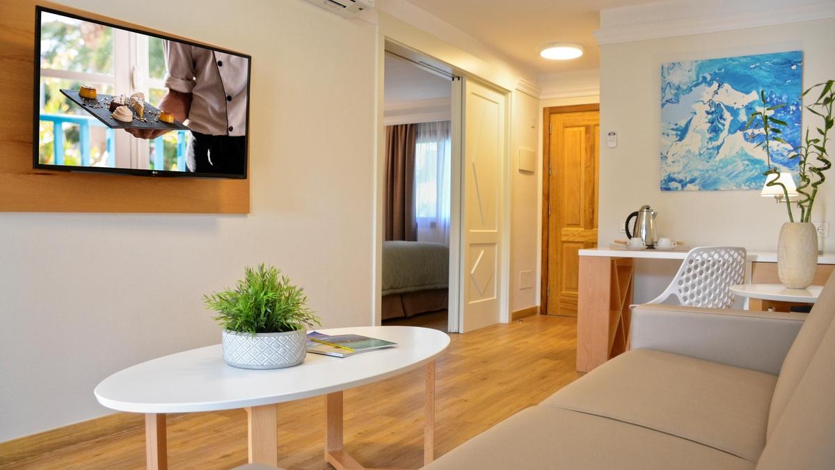 Suite 1 Dormitorio - Suite Hotel Atlantis Fuerteventura