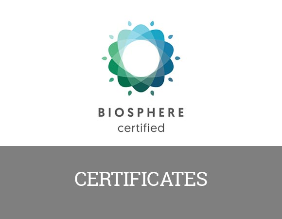 Certifications: Atlantis Bahía Real, a 5-star hotel in Fuerteventura.